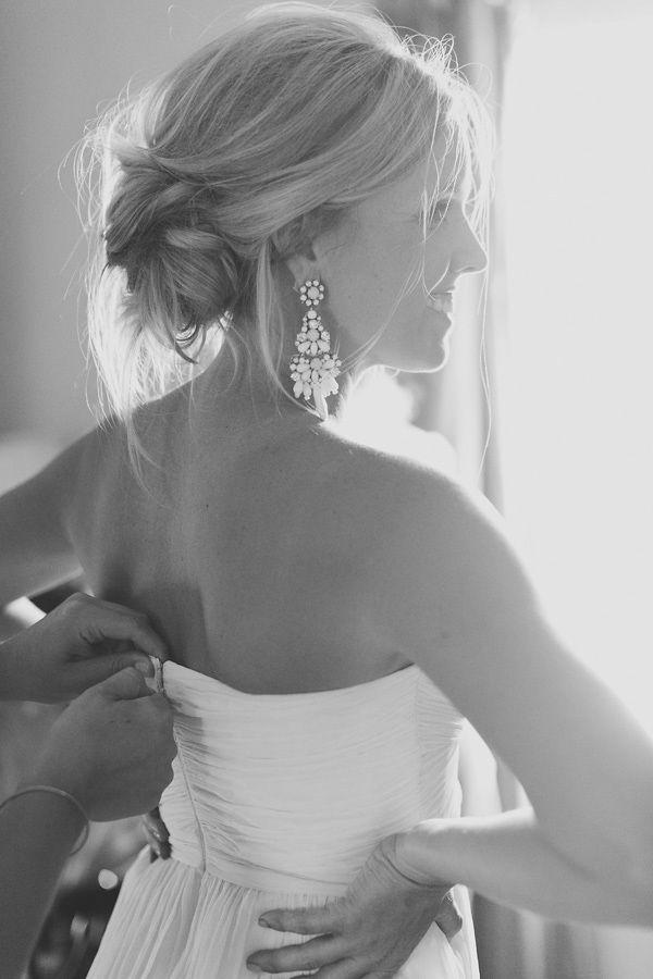 quelles boucles oreilles pour mariage