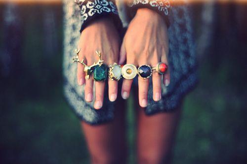 comment porter ses bijoux bague